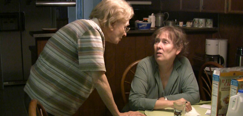 stills from the documentary, Mimi and Dona